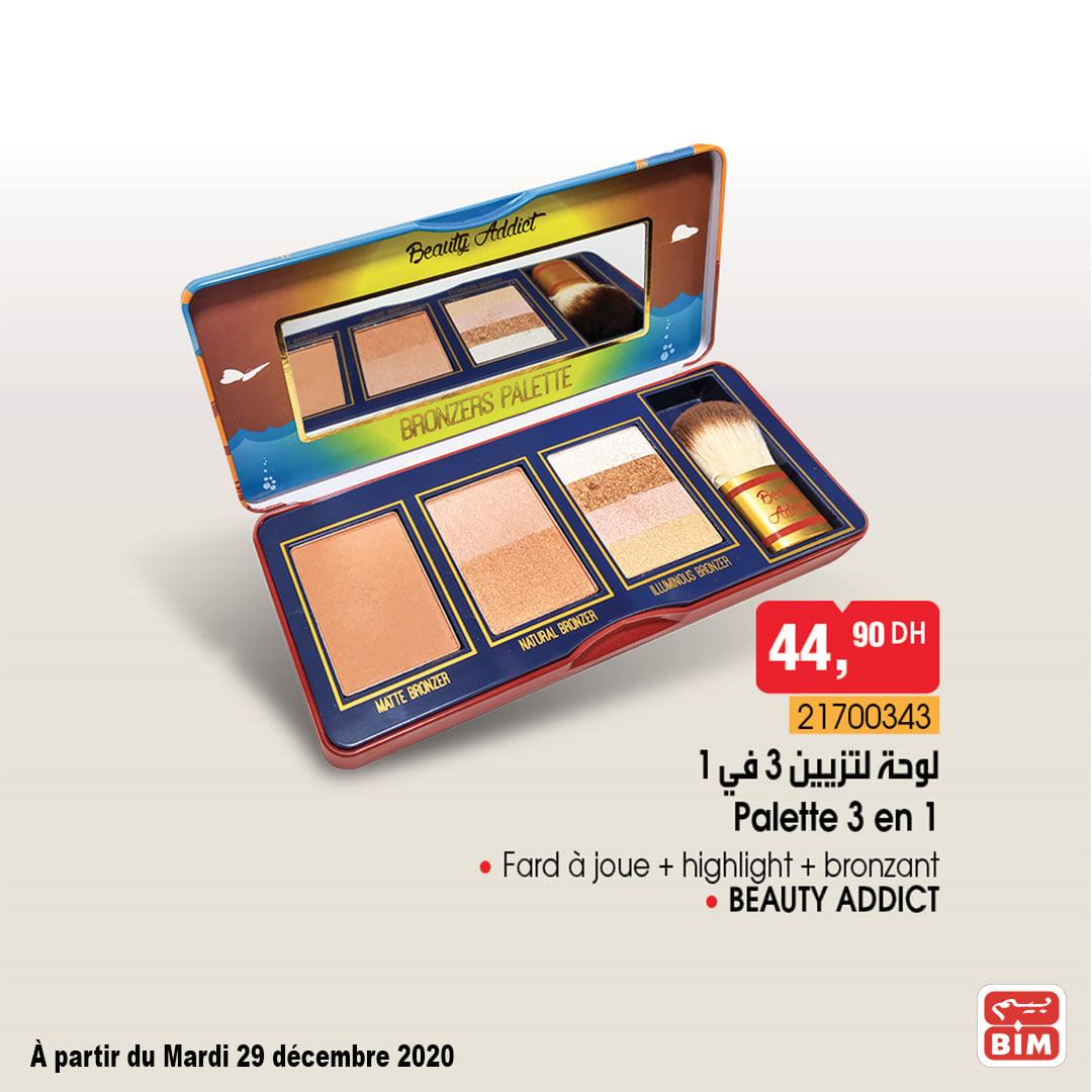 Bim promotions Maquillages mardi 29 Décembre 2020