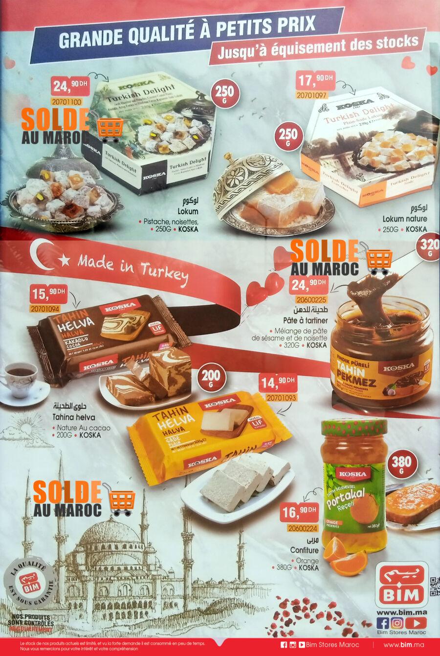 Catalogue Bim Maroc Spéciale Made in Turkey Jusqu'à équisement des Stocks