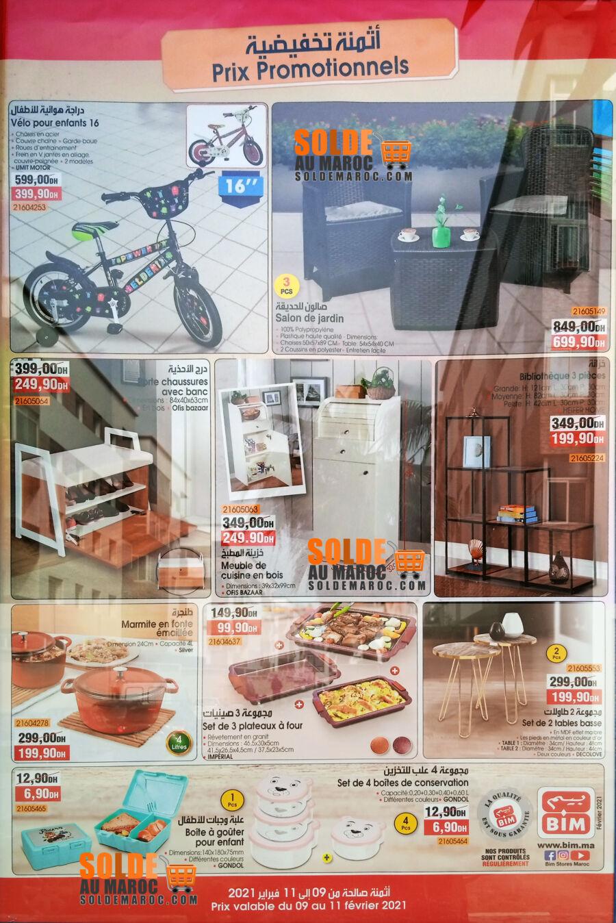 Catalogue Bim Nouveau Magasin Res Albadr Casa du 9 au 11 Février 2021