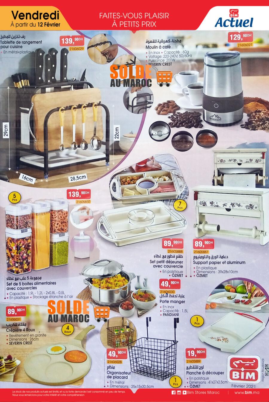 Catalogue Bim Région Bouskoura Outils de Cuisines du Vendredi 12 Février 2021