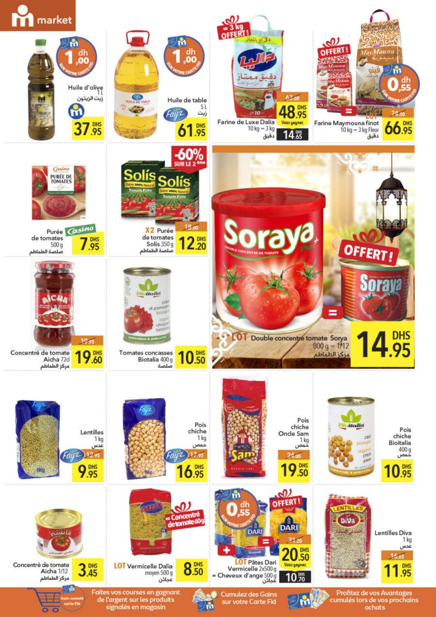 Catalogue Marjane Market رمضان كريم du 18 Mars au 16 Avril 2021