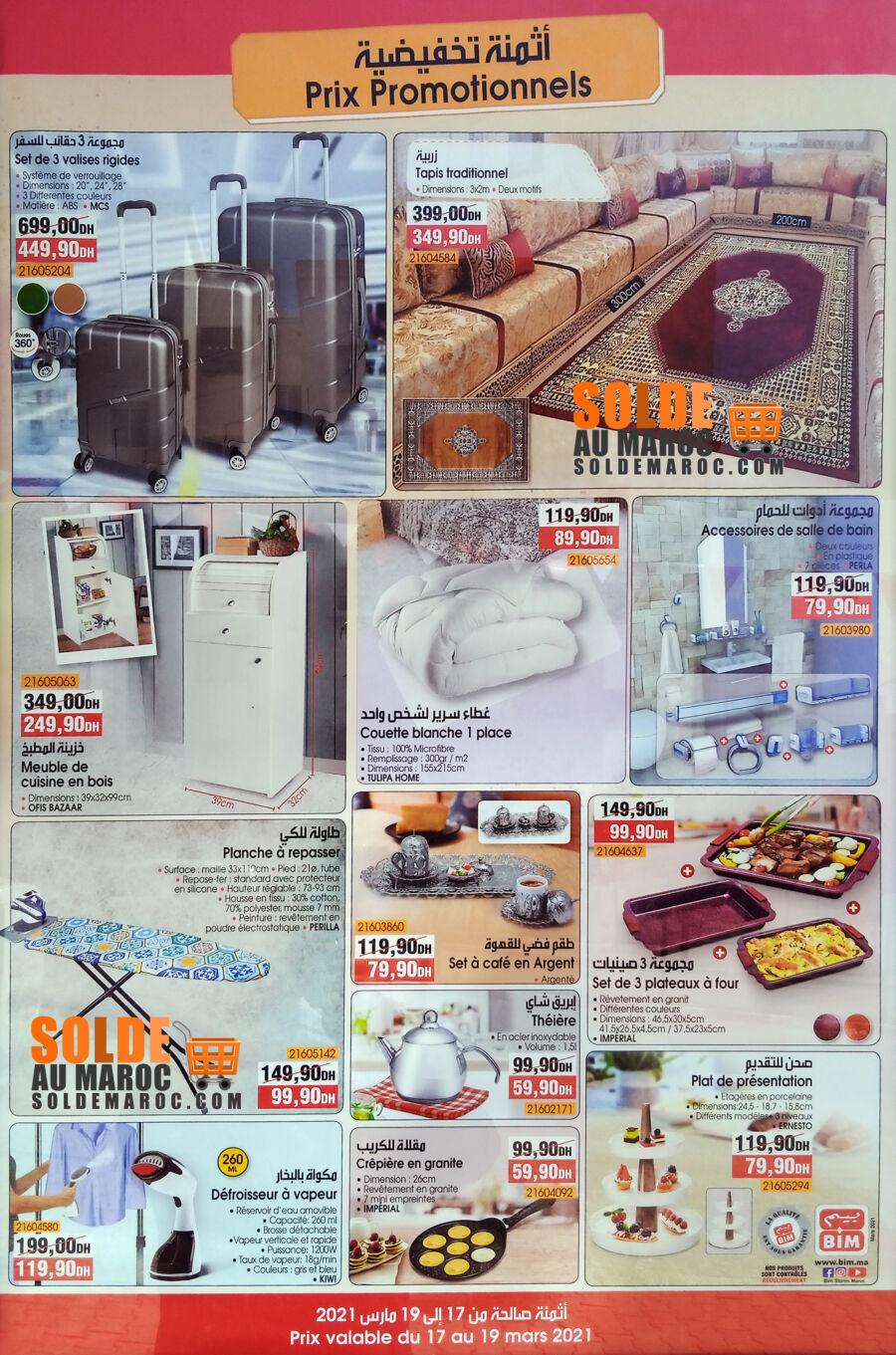 Catalogue Bim Nouveau magasin Najmat Sidi Moumen Casablanca du 17 au 19 Mars 2021