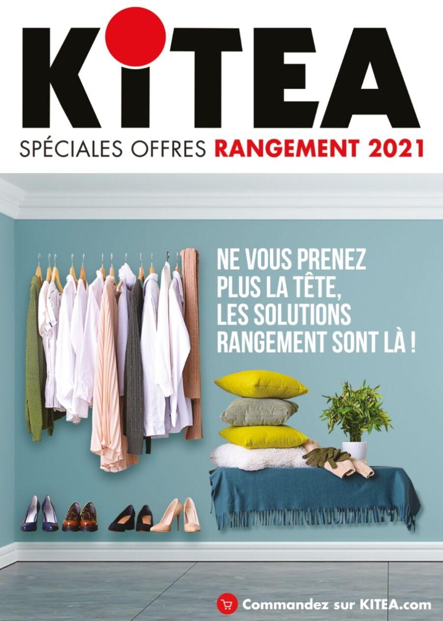 Catalogue Promotionnel chez Kitea Spéciales Offres Rangements 2021