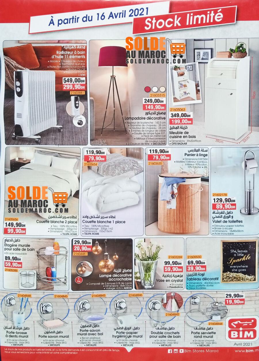 Catalogue Bim magasin Najmat Sidi Moumen à partir du Vendredi 16 Avril 2021