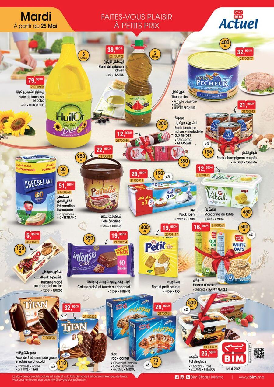 Catalogue Bim Maroc Spécial Alimentations à partir du Mardi 25 Mai 2021