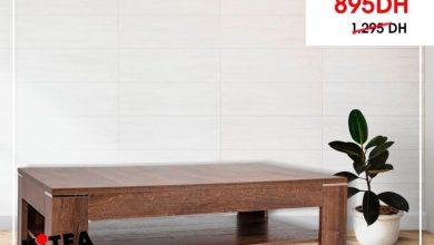 Soldes Spécial Kitea Table basse ALCANO 895Dhs au lieu de 1295Dhs