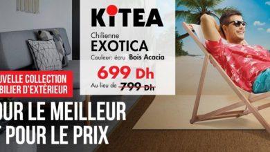 Soldes chez Kitea Chilienne bois acacia EXOTICA 699Dhs au lieu de 799Dhs