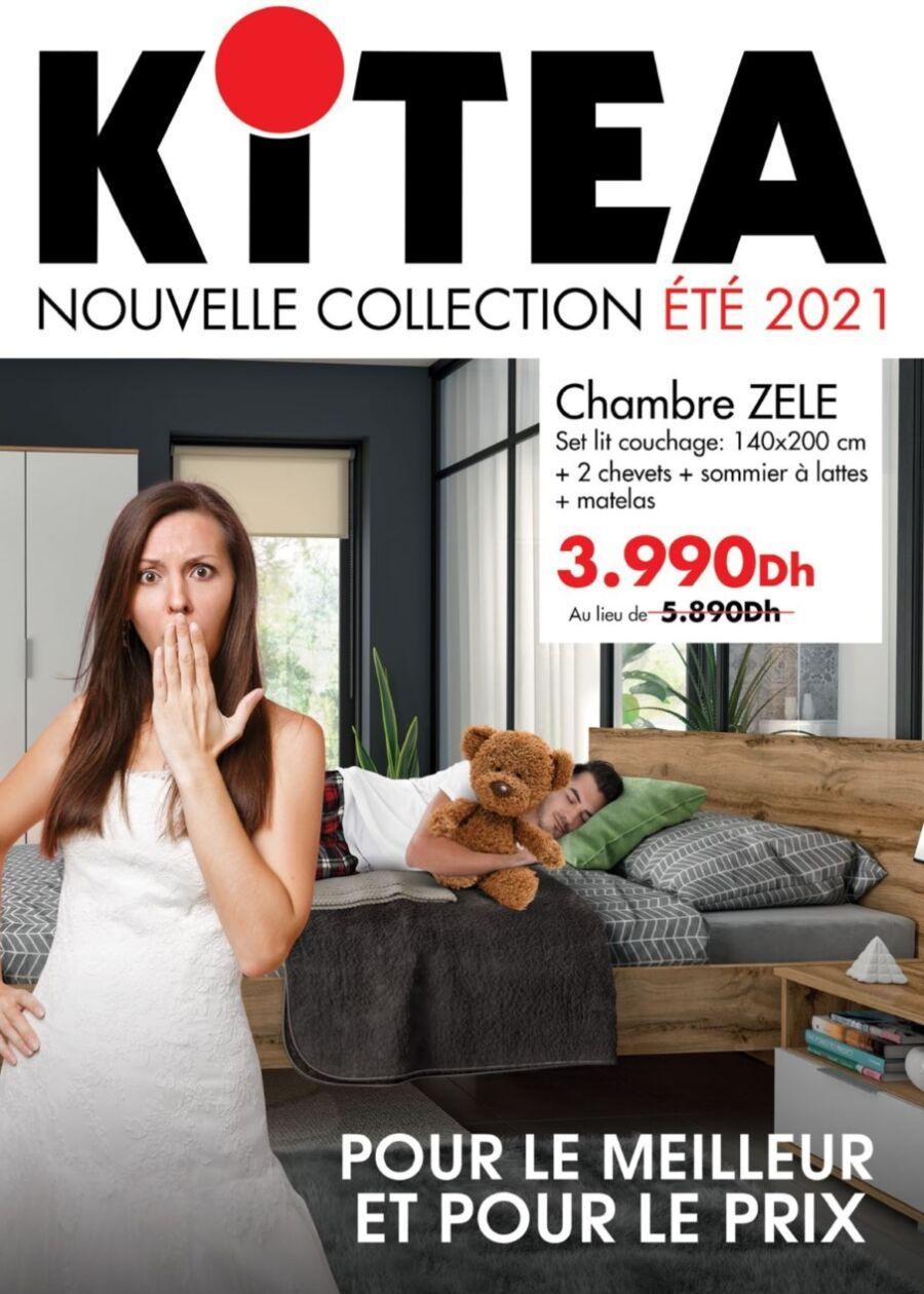 Catalogue Kitea Nouvelle Collection été 2021 jusqu'au 31août 2021
