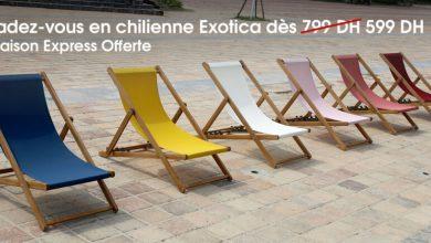Offres Spécial chez Kitea Chilienne EXOTICA 599Dhs au lieu de 799Dhs