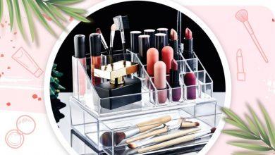 Soldes Aswak Assalam organisateur de maquillage avec tiroir 49Dhs au lieu de 69Dhs عروض اسواق السلام October 2021