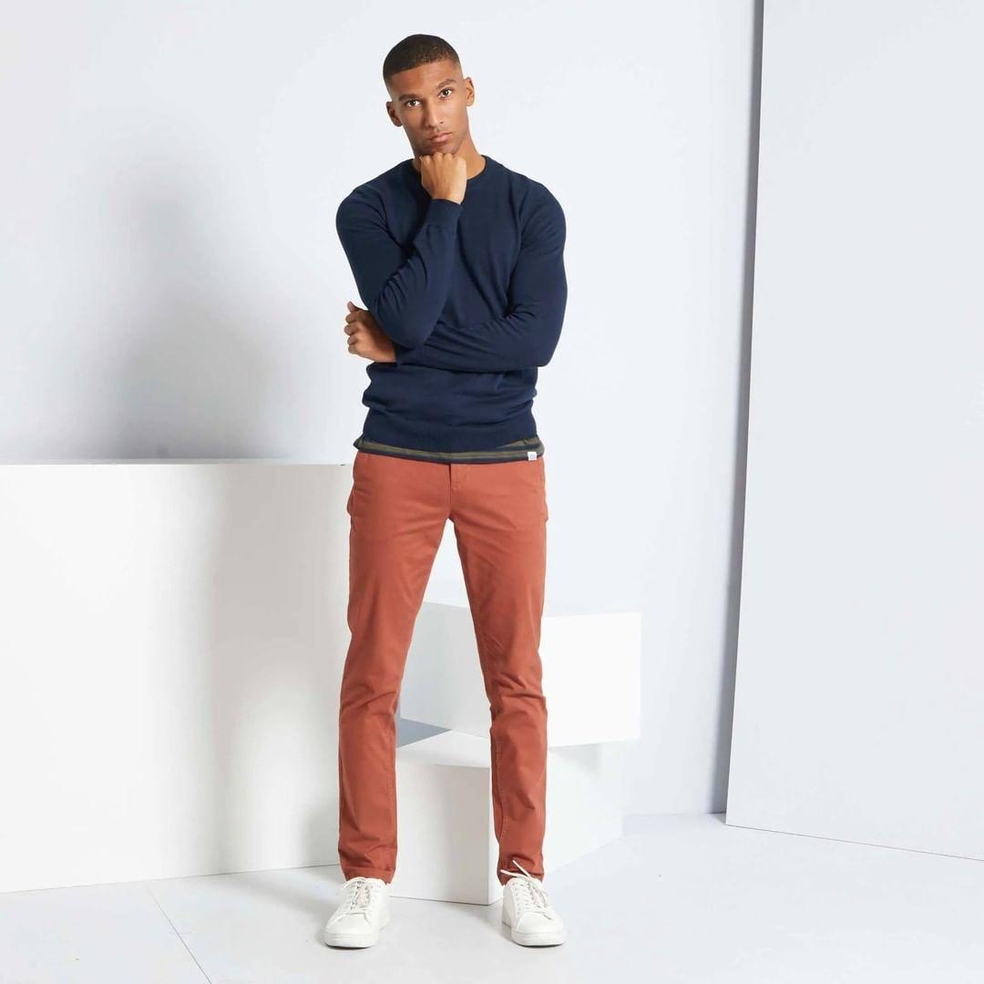 catalogue kiabi : C'est la minute soldes ! Zoom sur un indispensable du dressing masculin: le pant... September 2021