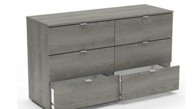 Prix spécial Kitea Commode PERFECT chêne hudson 6 tiroirs 1195Dhs au lieu de 1450Dhs