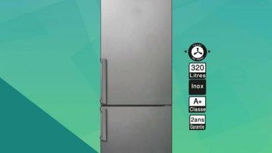 Soldes Aswak Assalam Réfrigérateur combiné CANDY 320L 5399Dhs au lieu de 5599Dhs عروض اسواق السلام September 2021