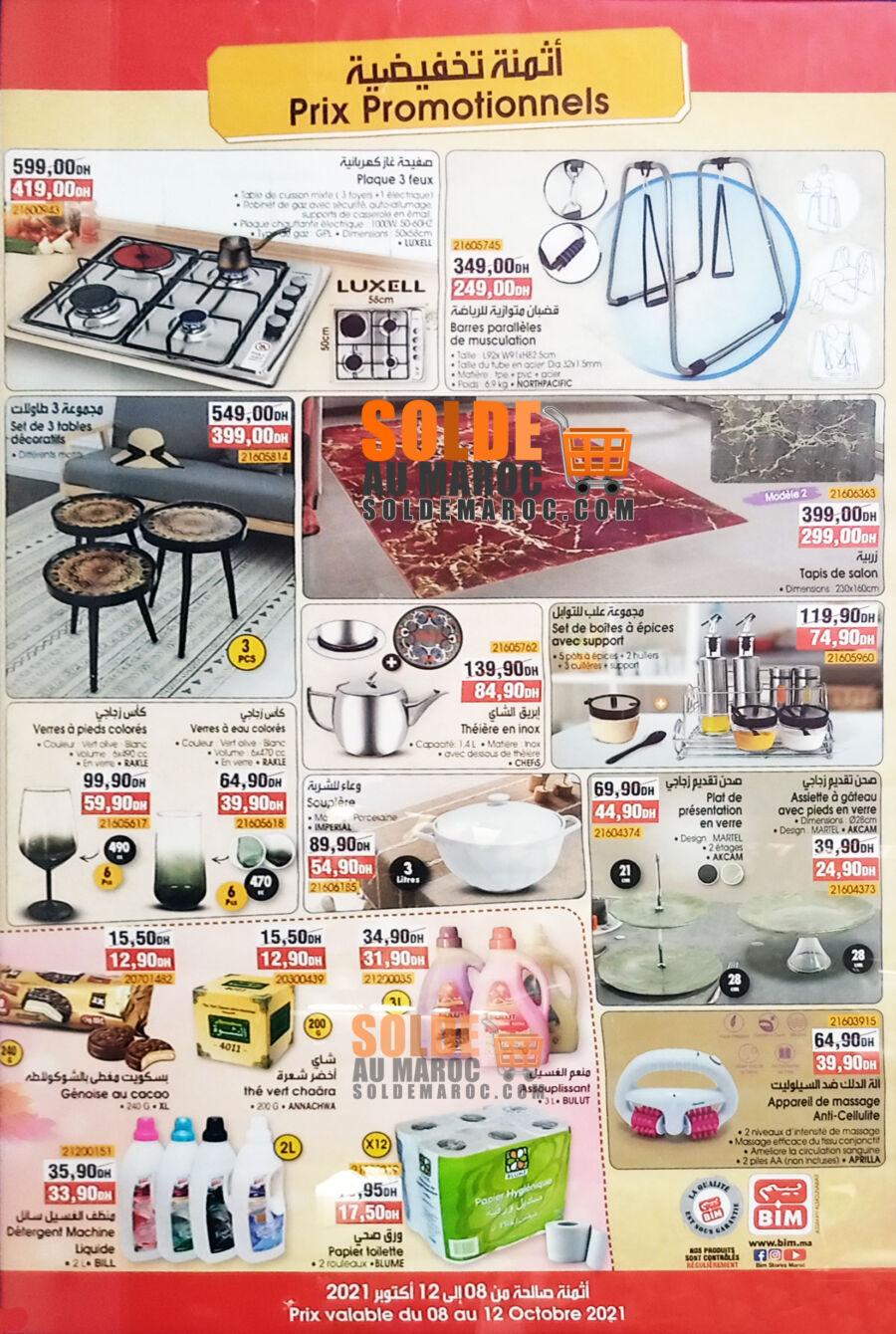 Catalogue Bim Lot Assakan Almounawar Ain Chok Casablanca du 8 au 11 octobre 2021